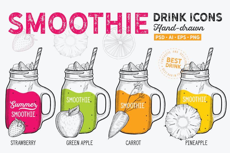 Smoothie Hand-Drawn Graphic