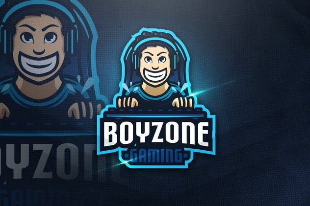 Boyzone Gaming - Mascot Logo