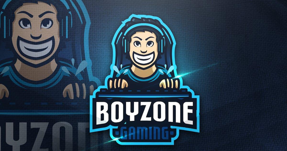 Download Boyzone Gaming - Mascot Logo by aqrstudio