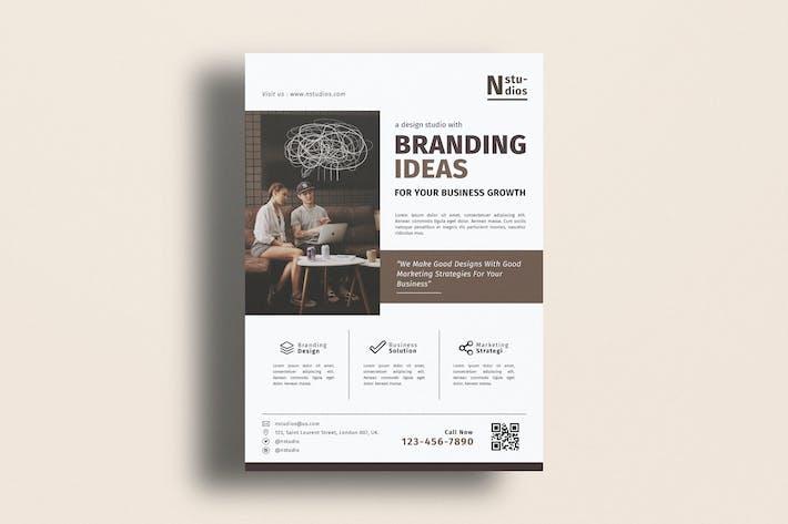 Thumbnail for Multipurpose Business Branding Flyer Template