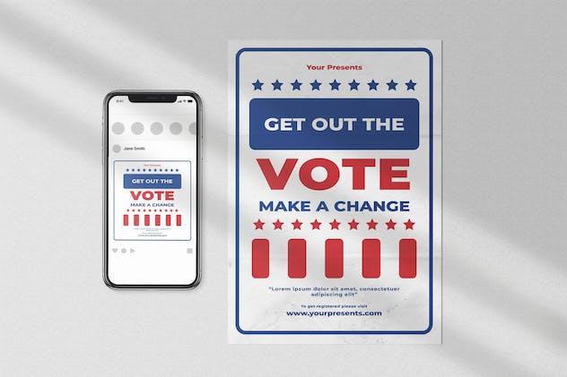 Vote Flyer Pack
