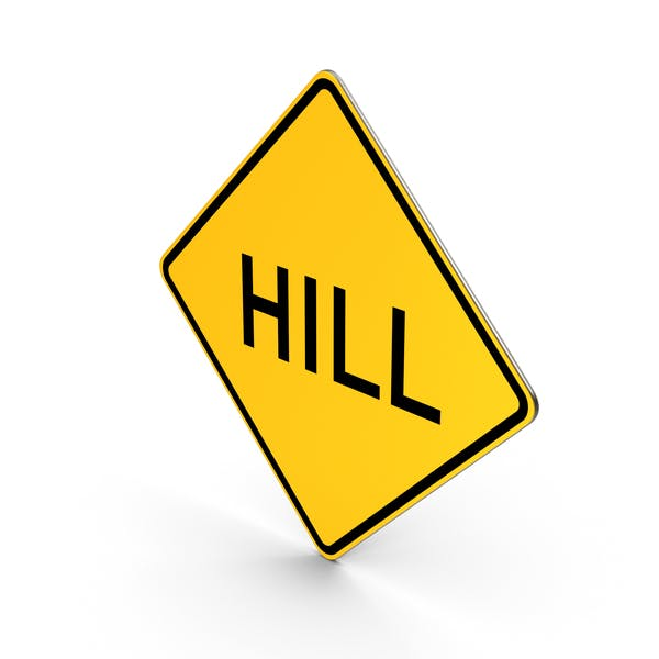 Hill Road Sign
