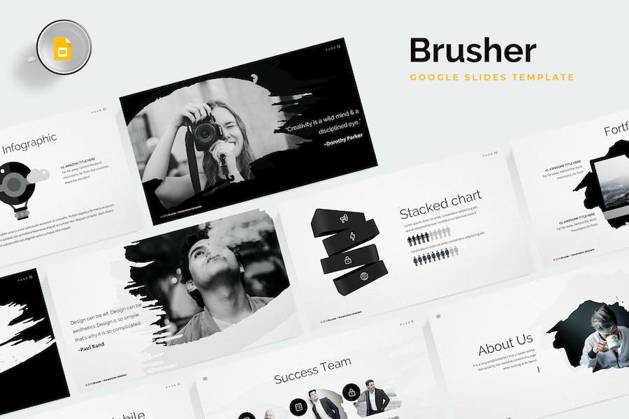 Brusher Google Slides Template
