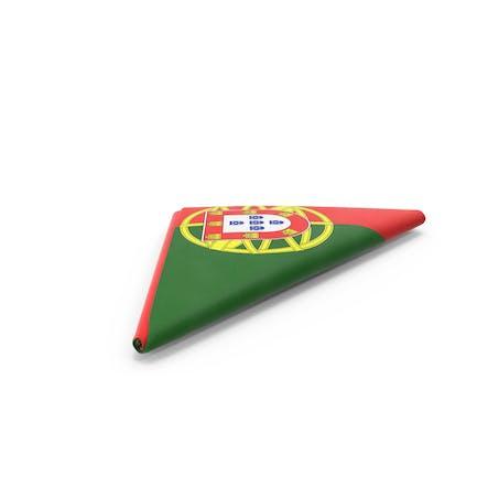 Flagge gefaltet Dreieck Portugal