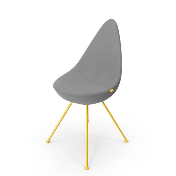Drop Shaped Chair Velvet