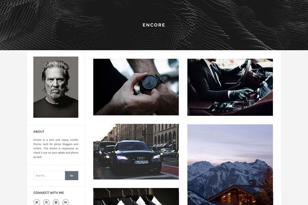 Encore - Magazine Style Theme - product preview 0