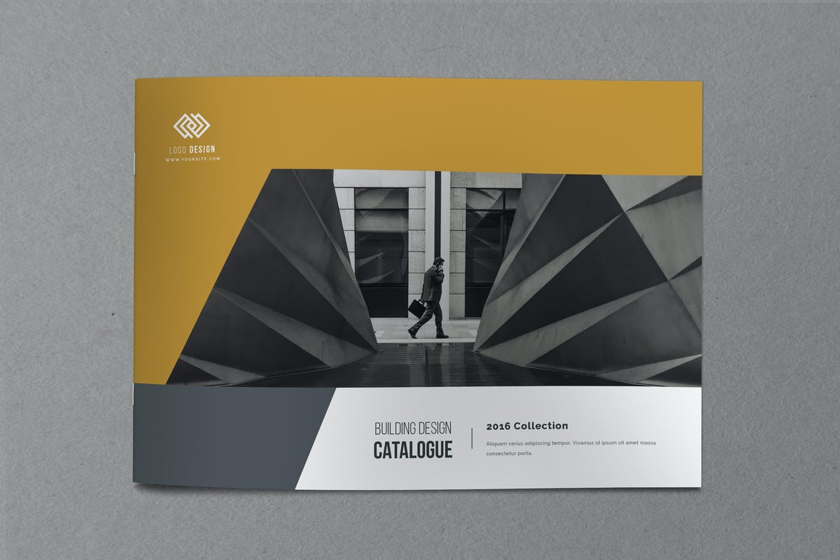 Minimal Indesign Catalogue by Nody4Design on Envato Elements