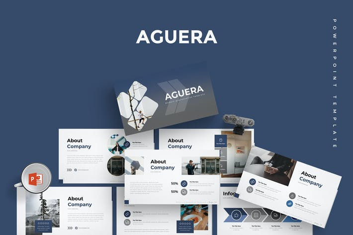 Thumbnail for Aguera - Presentation Template
