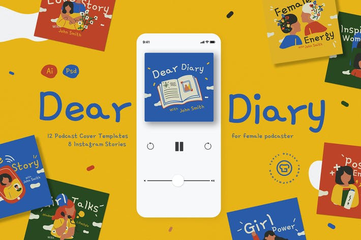 Female Diary Podcast Pack