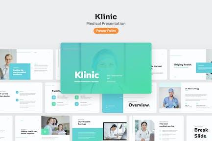 Klinic - Medical PowerPoint Presentation