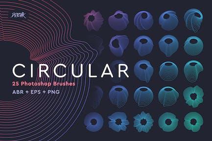 Circular Photoshop Brushes