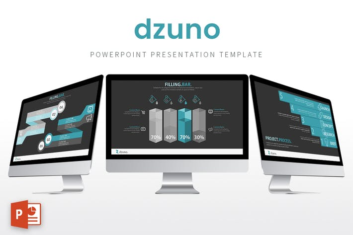 Thumbnail for Dzuno - Powerpoint Template