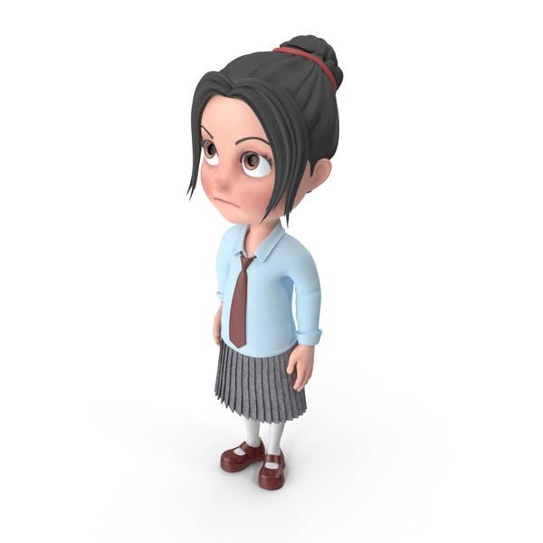 Thumbnail for Bored Cartoon Girl Emma