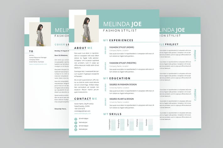 Spread CV Resume Designer