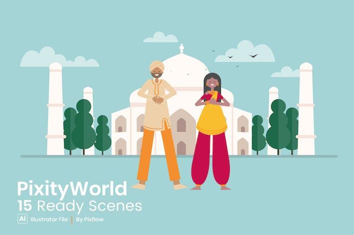 Thumbnail for Pixity World Ready Szenen