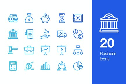 20 Business and Finance icons