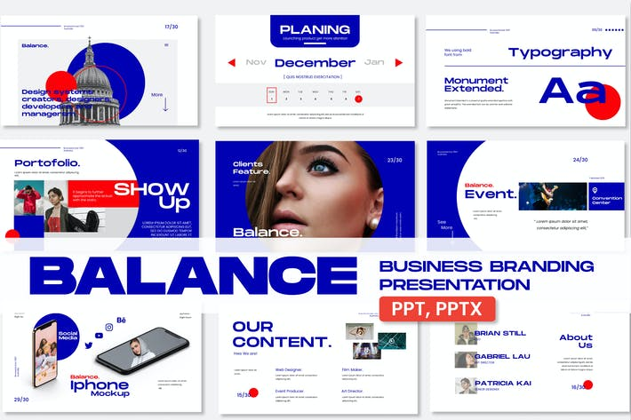 Balance Business Branding Presentation - JJ