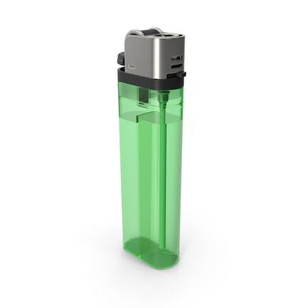 Grünes Feuerzeug