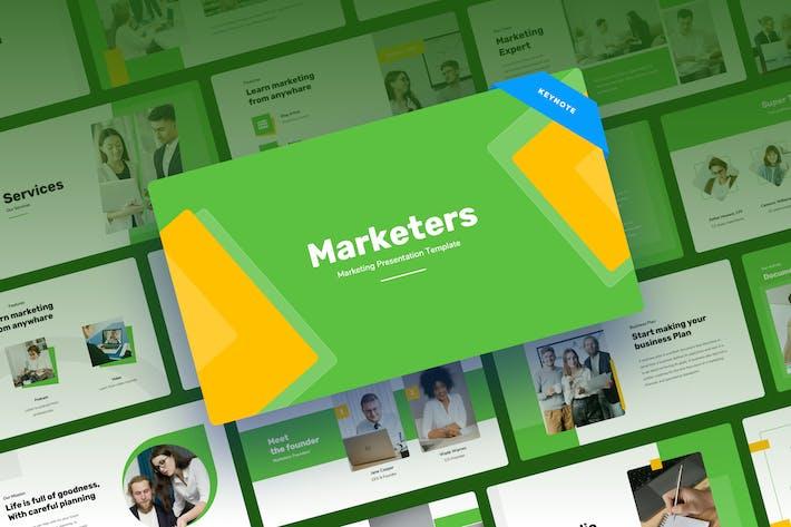 Marketers - Marketing Keynote Presentation