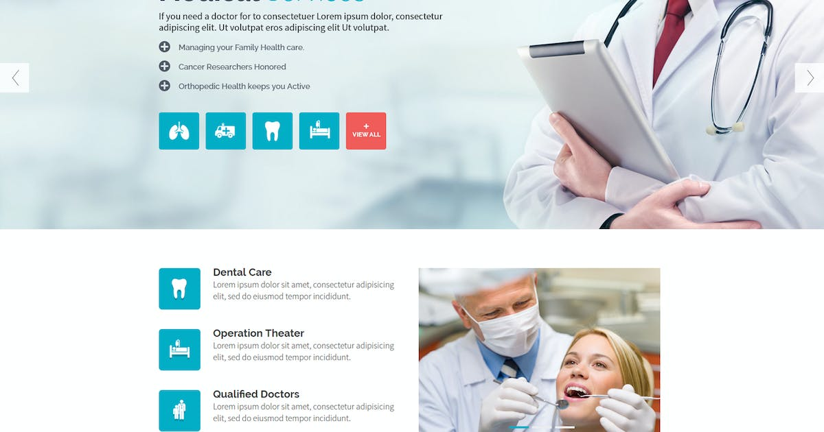 Download MedicalGuide - Health and Medical Drupal Theme by BrighThemes