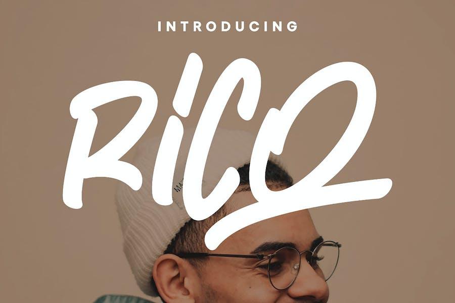 Rico - Display Script