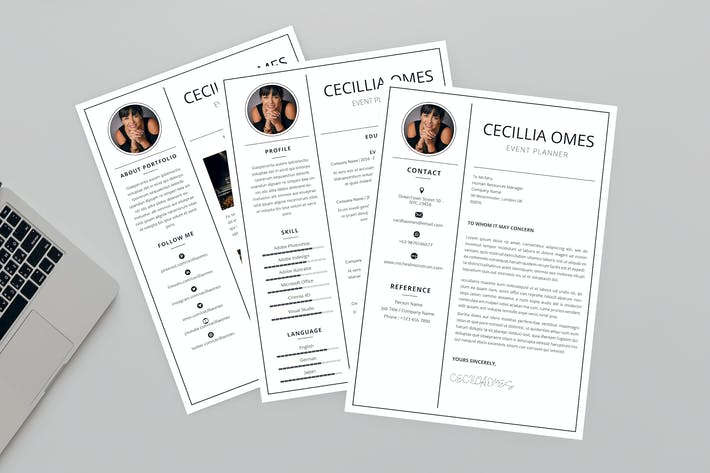 Thumbnail for Event Planner Resume Designer