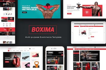 Boxima - Sport OpenCart Theme