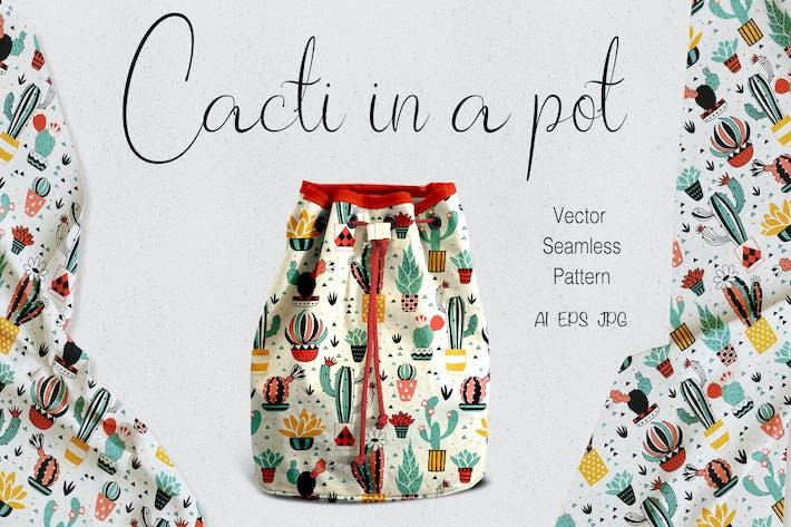 Cover Image For Kakteen in einem Topf