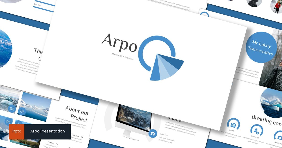 Download Arpo - Powerpoint Template by inspirasign