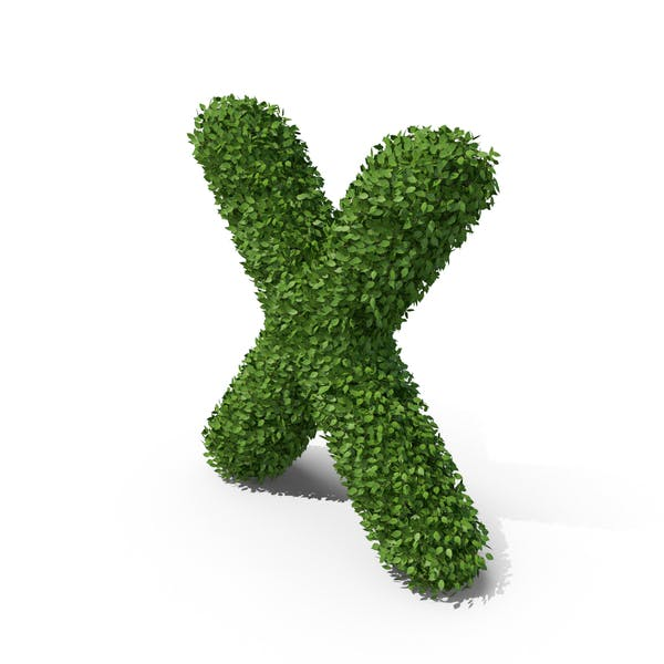Thumbnail for Hedge Shaped Letter X