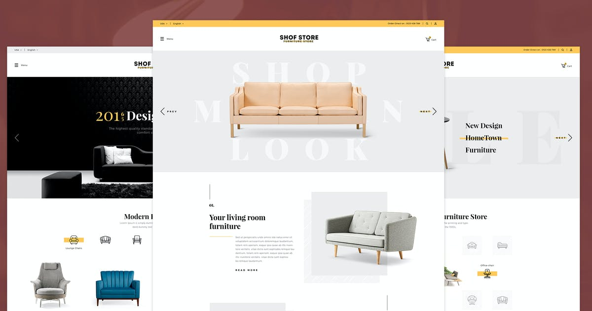 Download Shofstore - eCommerce HTML5 template by KL-Webmedia