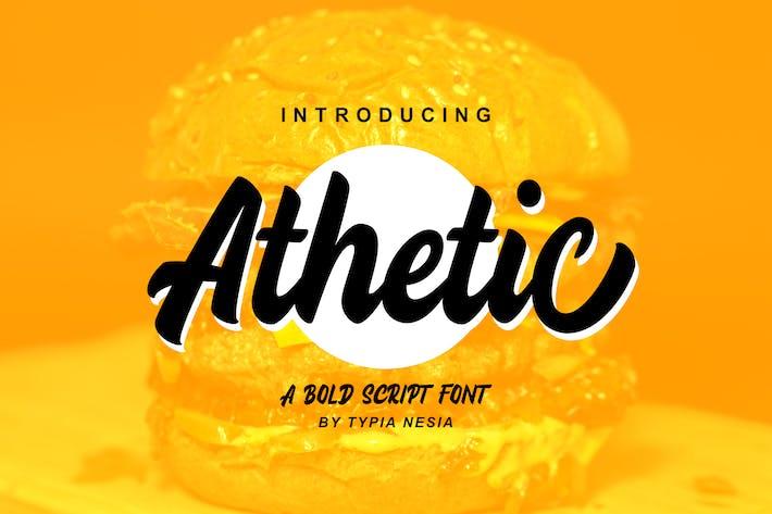 Thumbnail for Athetic Bold Script