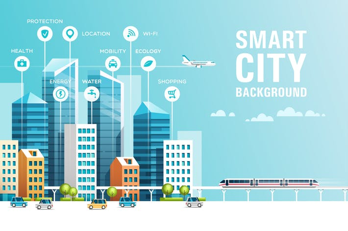 Cover Image For Smart City