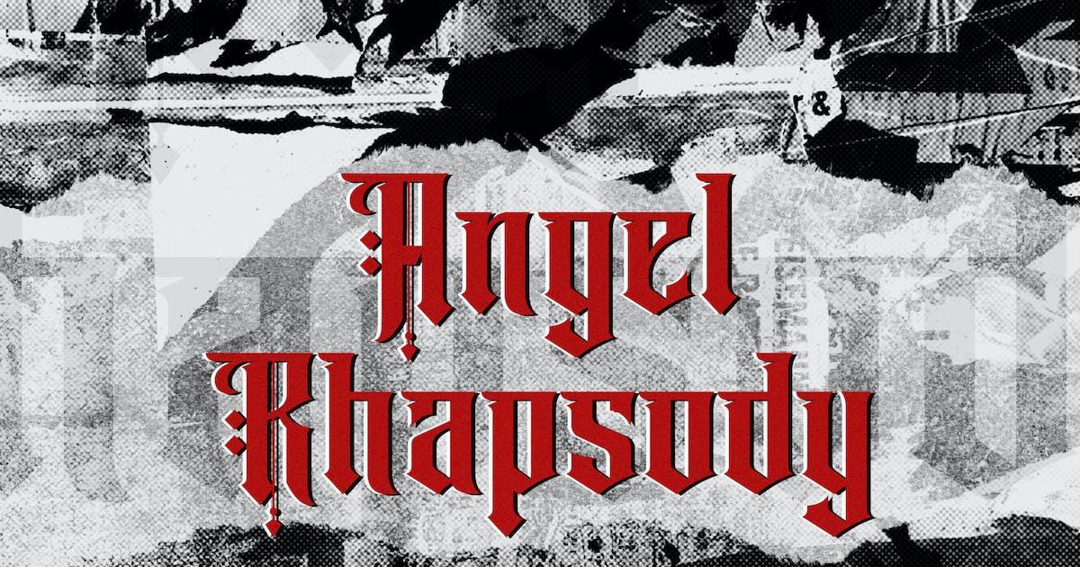 Download Angel Rhapsody - Blackletter Font by StringLabs