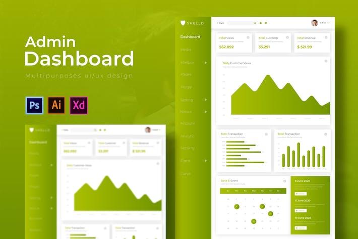 Thumbnail for Sheld Dashboard | Admin Template