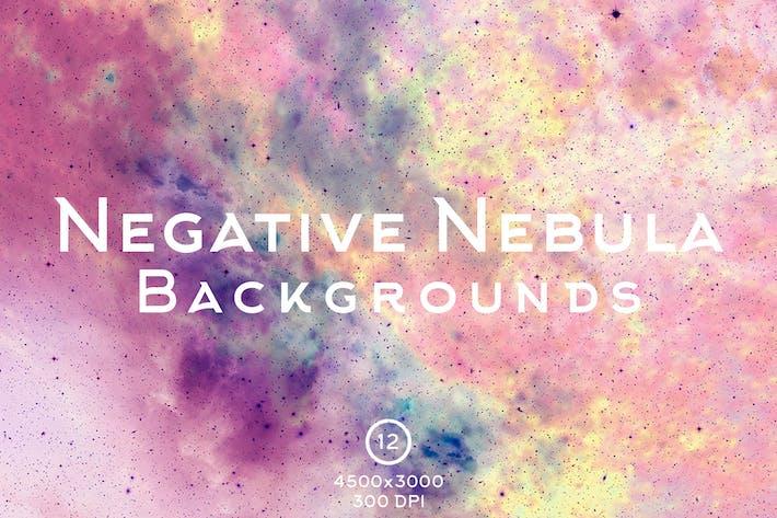 Negative Nebula Backgrounds