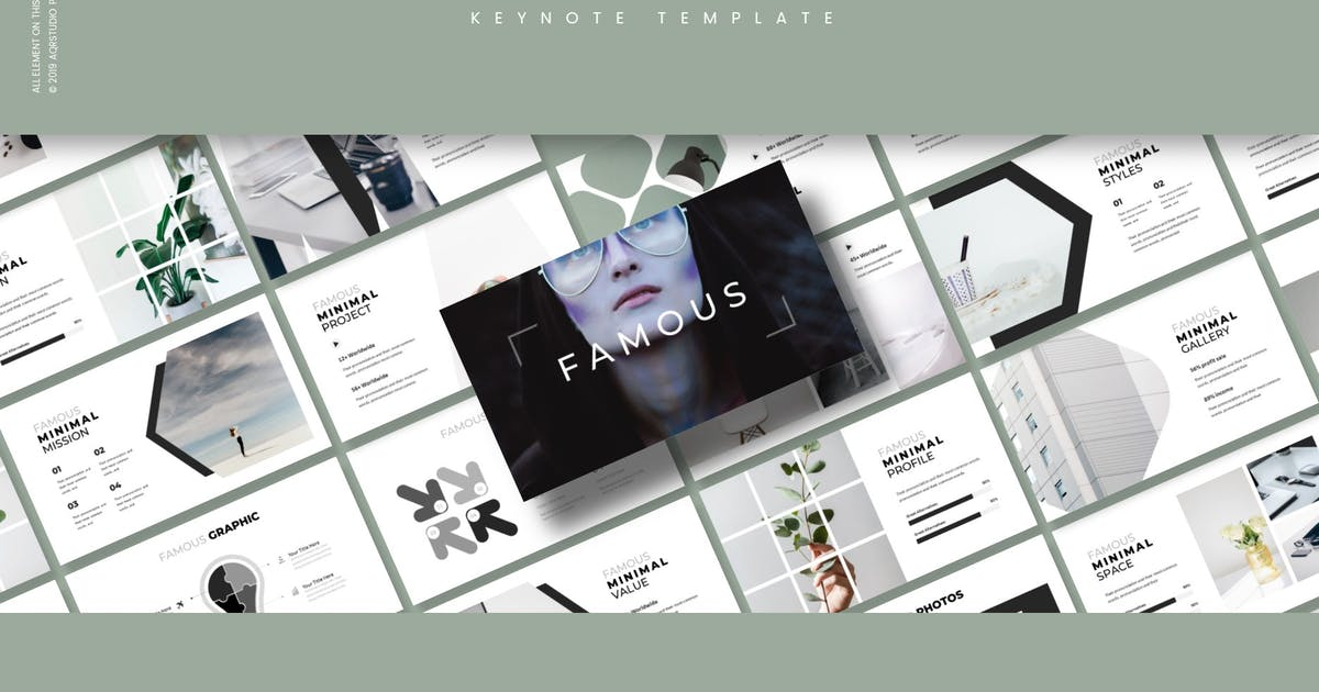 Download Famous - Keynote Template by aqrstudio