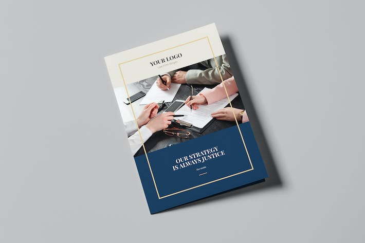 Thumbnail for Brochure – Law Firm Bi-Fold