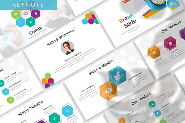 Thumbnail for Combi - Business Keynote Template