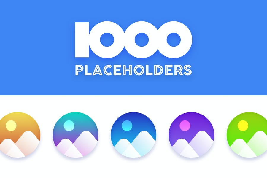 1000 Image Placeholders