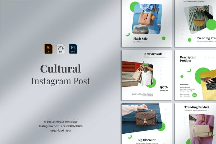 Thumbnail for Cultural - Social Media Post 08