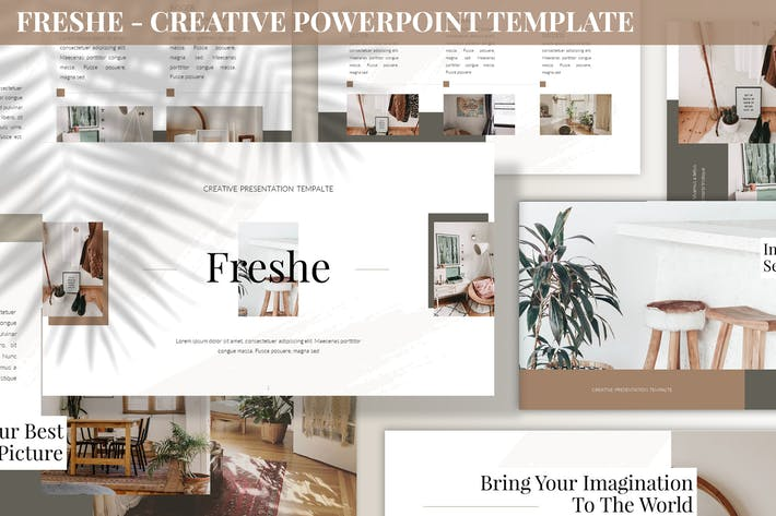 Thumbnail for Freshe - Creative Powerpoint Template
