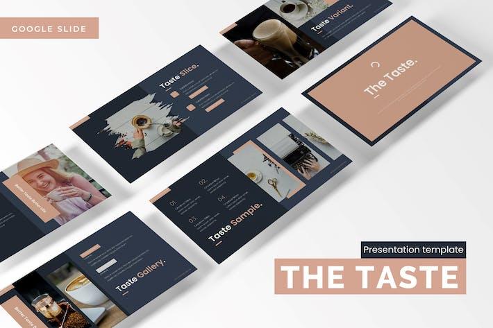 Thumbnail for The Taste -  Google Slides Template