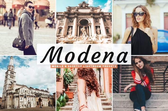 Thumbnail for Modena Mobile & Desktop Lightroom Presets