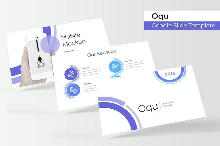 Thumbnail for Oqu - Plantilla de Presentación de Google