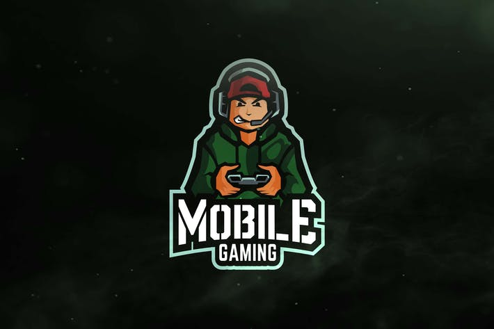 Thumbnail for Mobile Gaming Sport and Esports Logos