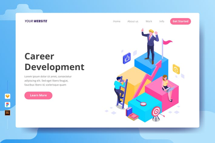 Thumbnail for Career Development - Landing Page