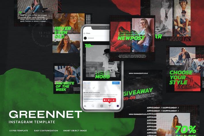 Thumbnail for Greennet Instagram Stories Mode Streetwear