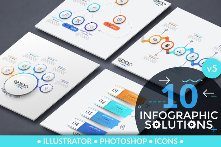 Thumbnail for Infographic Solutions. Part 5