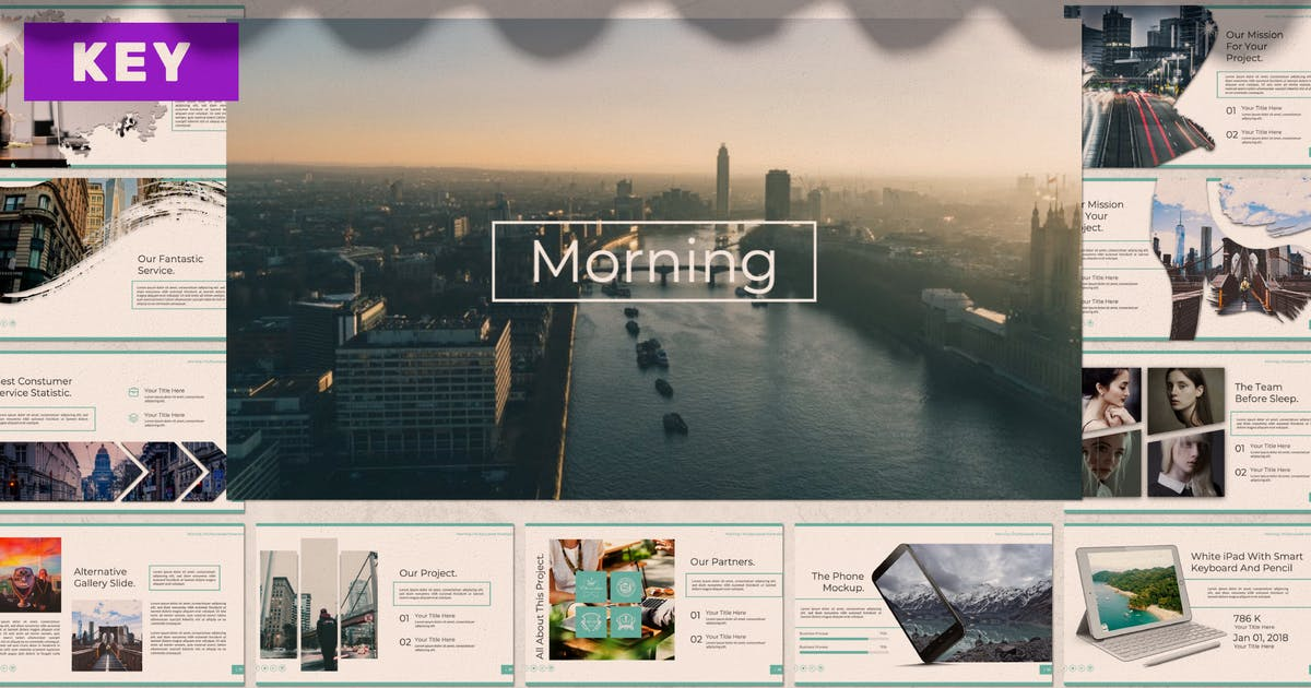 Download Morning Business Keynote by templatehere